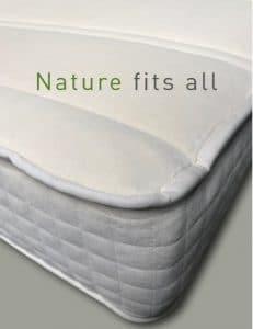 Naturlatex Matratze Nahaufaunahme